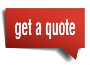 quick quote box in red